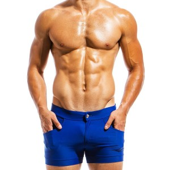 Men's swimwear short MS1831_blue