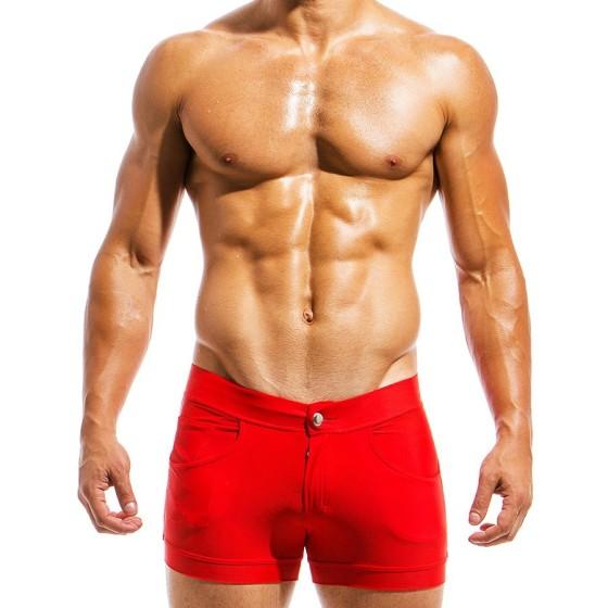 Men's swimwear short MS1831_red