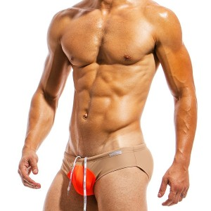 Men's Swimwear brief IS1812_orange