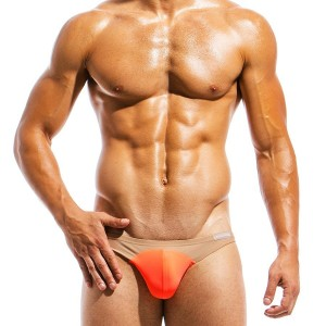 Men's swimwear low cut brief IS1811_orange