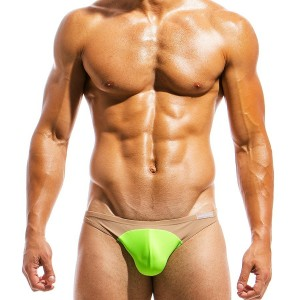 Men's swimwear low cut brief IS1811_lime
