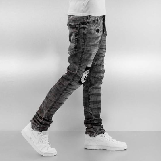 878b19902c5f Ανδρικό JEAN παντελόνι LUCKY Black Wach ...