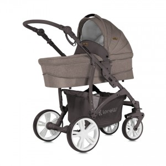 Children's Combi Stroller ARIZONA 3 in 1  Beige with Car Seat