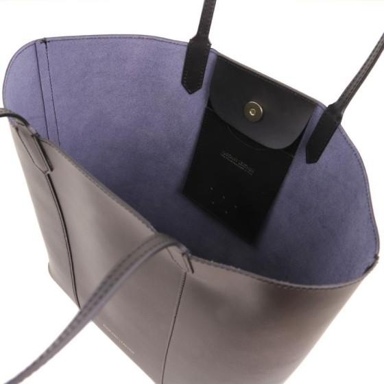 Γυναικεία Τσάντα Ώμου Δερμάτινη Dafne
