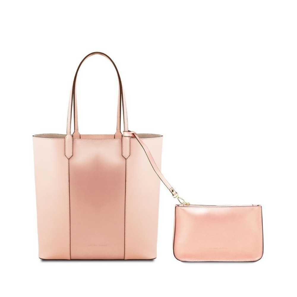 Women's Shoulder Bag Dafne Leather Nude