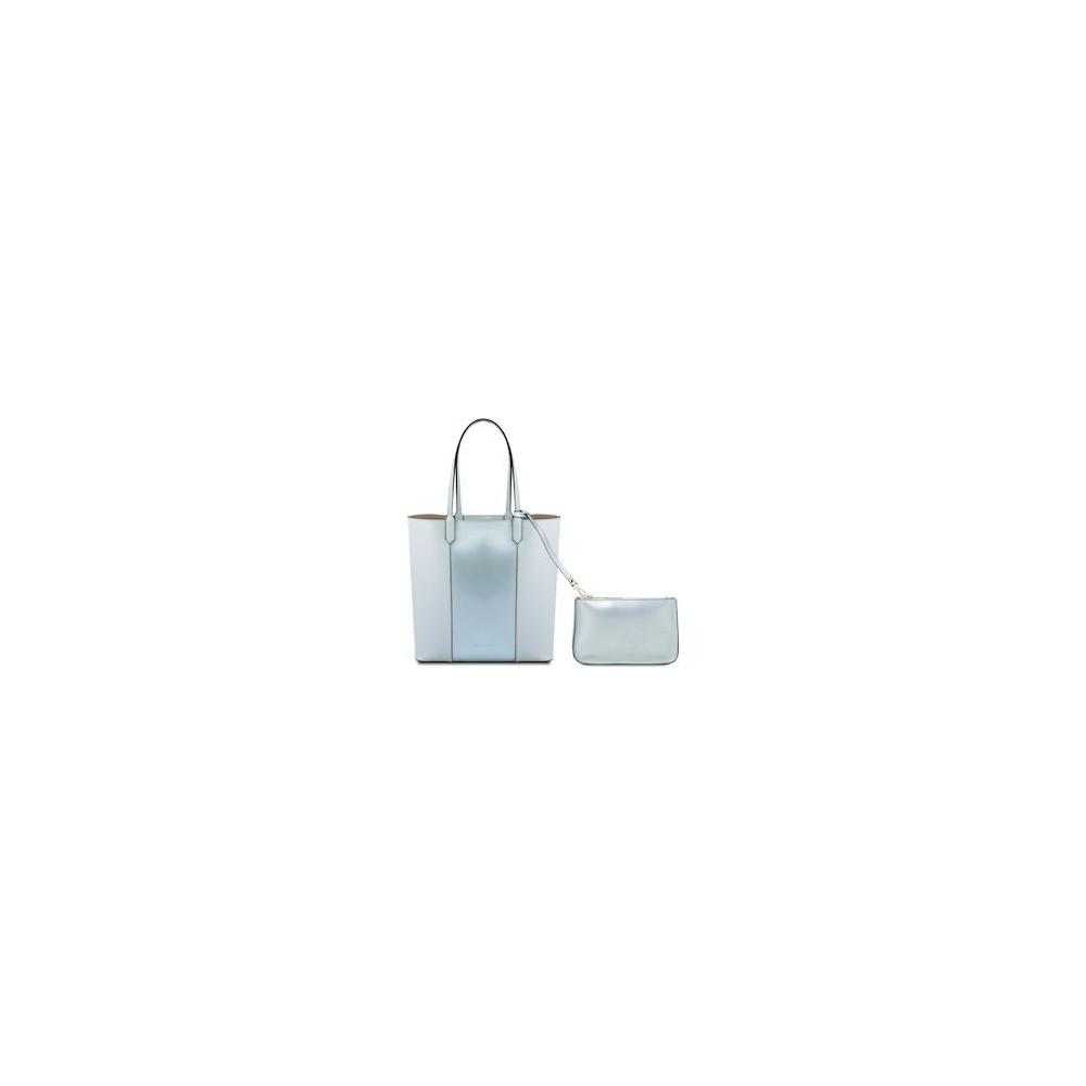 Women's Shoulder Bag Dafne Leather lidht blue