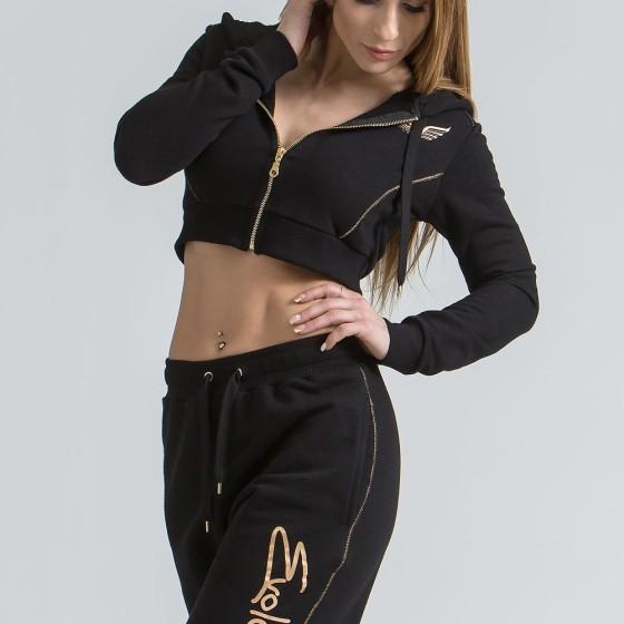 Women's Jacket with Hood 3008 Black