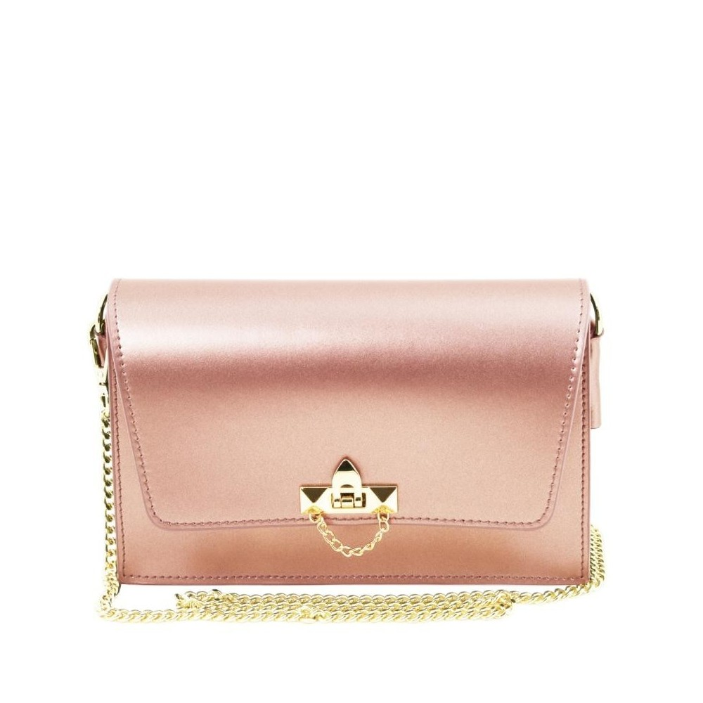 Women's Leather Pouch TL141654 Roze