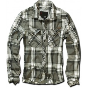 Men's Checkered Shirt CHECKSHIRT Olive
