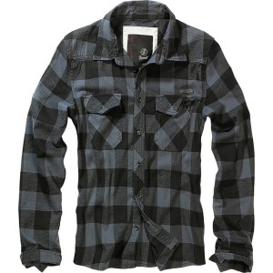 Men's Checkered Shirt  CHECKSHIRT  Black-Grey