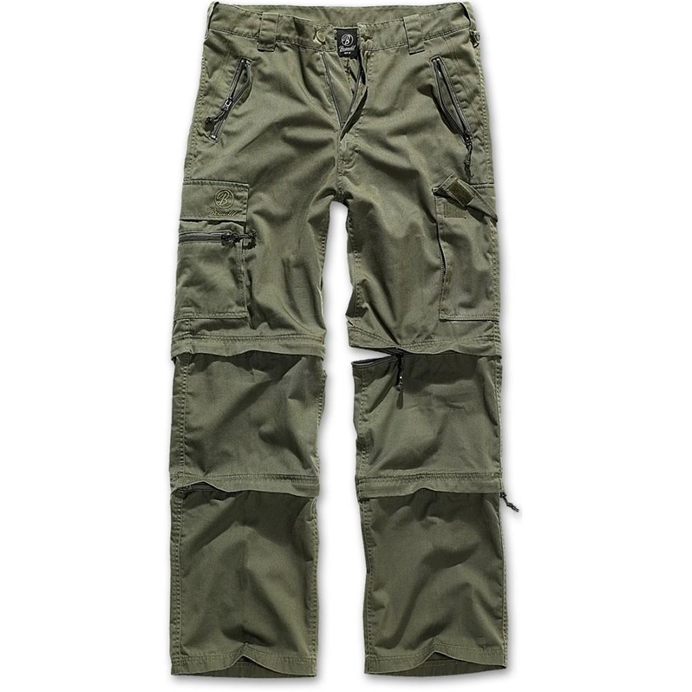 Ανδρικό παντελόνι Cargo Savannan Trekking Olive