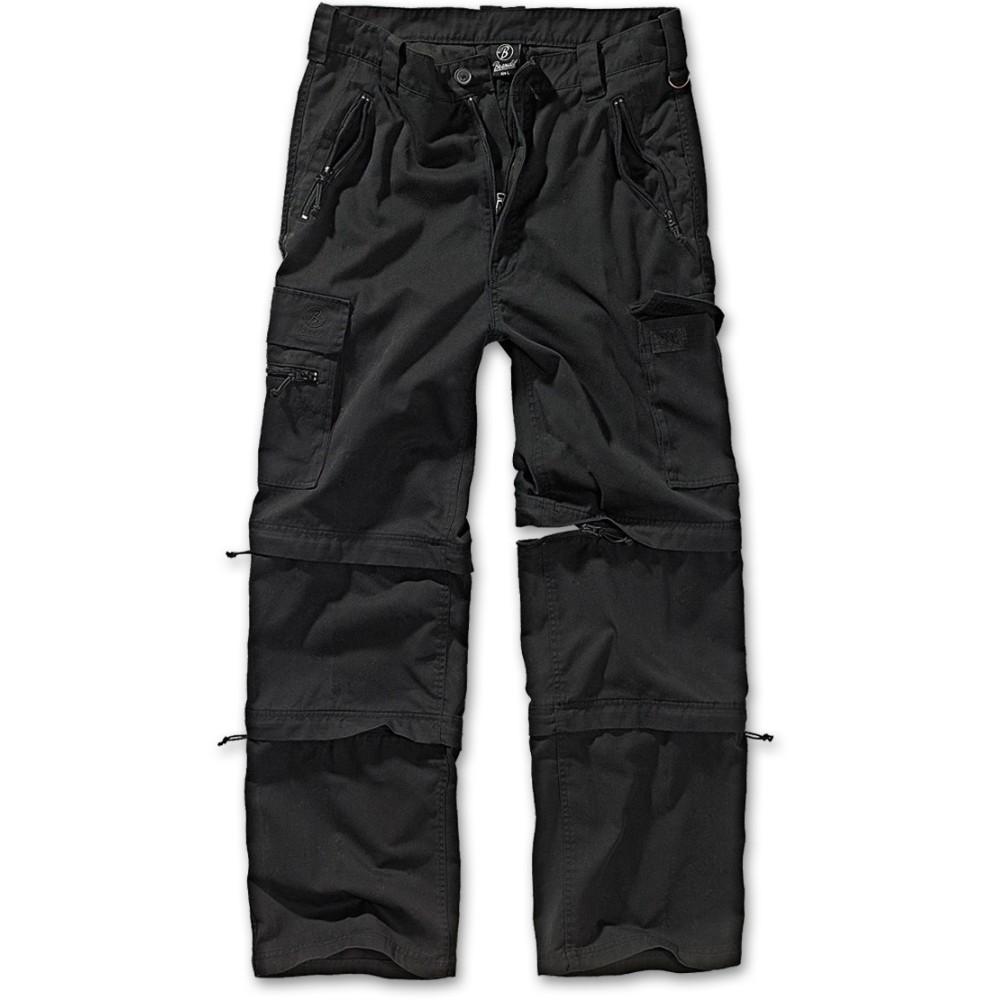 Ανδρικό παντελόνι Cargo Savannan Trekking Black