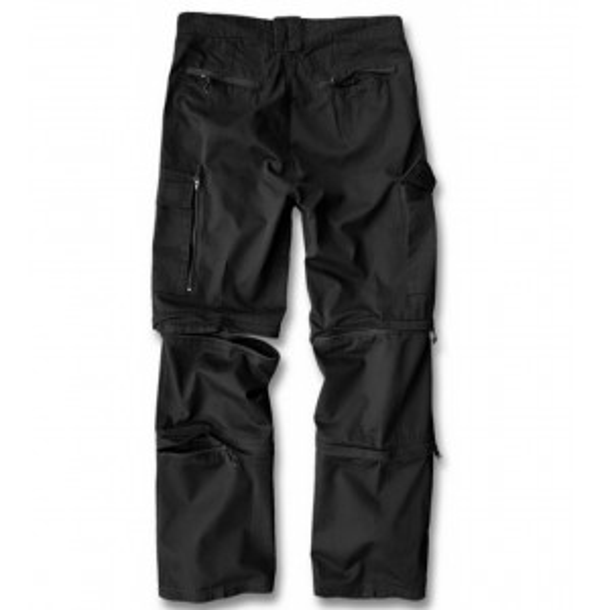 Men's trousers Cargo Savannan Trekking Black