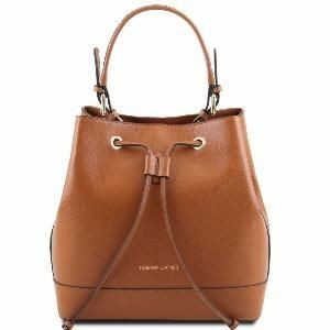 Women's Leather Minerva Bag Brendi