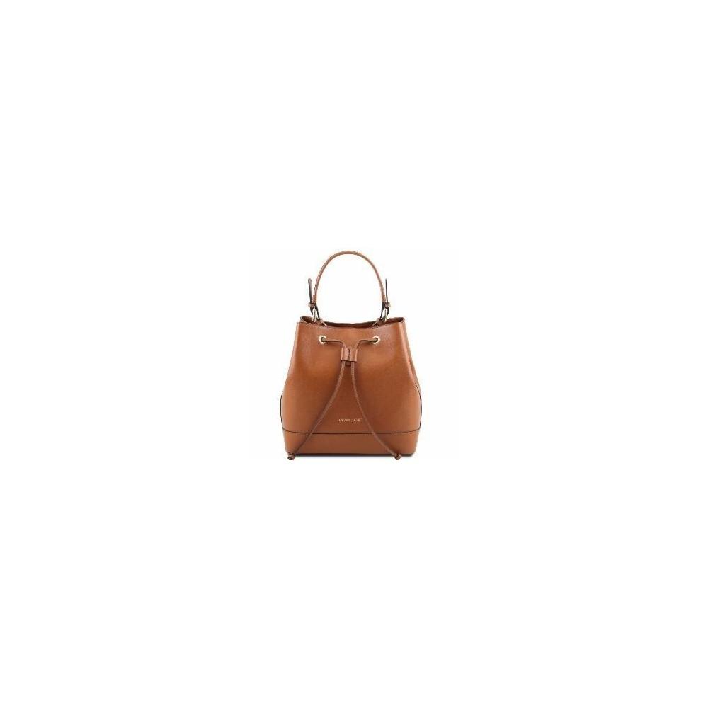 Women's Leather Minerva Bag Brendi