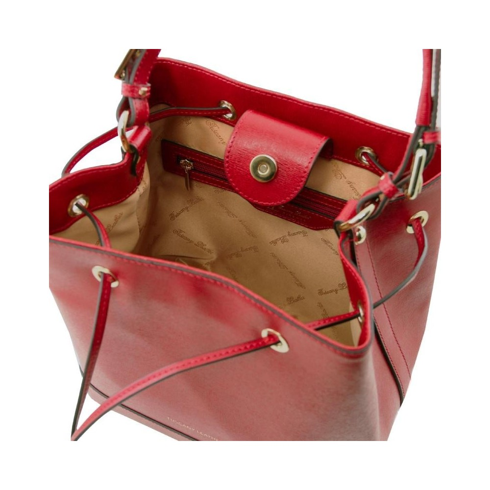 0e2886e5ab Γυναικεία Τσάντα Δερμάτινη Minerva Κόκκινο
