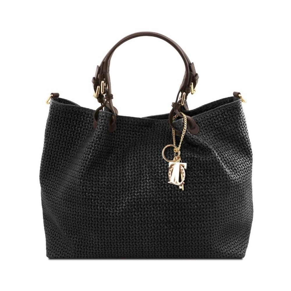 Women's Leather Bag  TL Keyluck Black