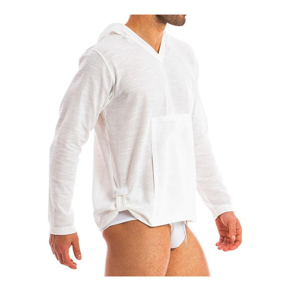 671be650b25 Ανδρικά ρούχα παραλίας - Fashion.gr   Ανδρικό καφτάνι - Λινό με κουκούλα. ,  ملابس داخلية ...