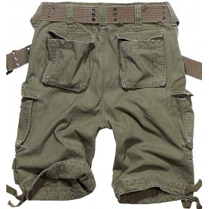 Bermuda with belt SAVAGE SHORTS OLIVE