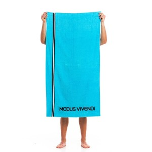 MEN'S BEACH TOWEL MS1862_aqua