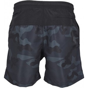 MENS SWIMSHORT BLOCK DARKCAMO