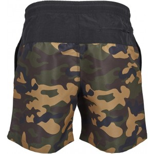 MEN'S SWIMSHORT BLOCK WOOLAND