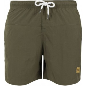 MEN'S SWIMSHORT BLOCK OLIVE