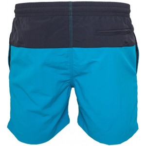 MEN'S SWIMSHORT BLOCK TB1026 Navy-Turkuaz