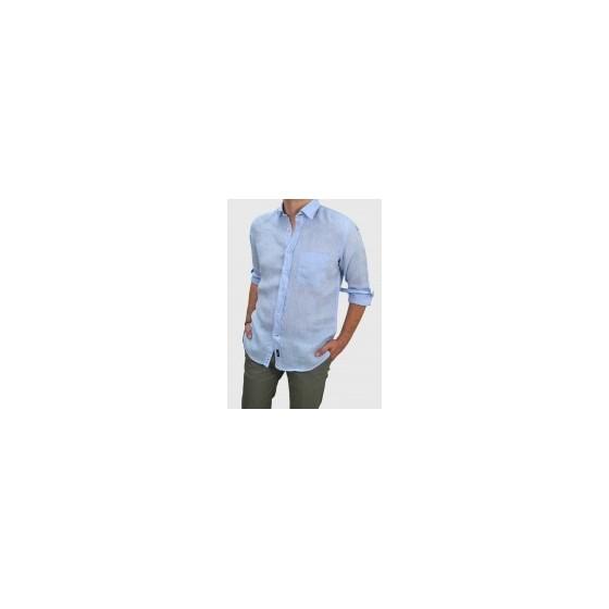 Ανδρικό Λινό πουκάμισο Q681-MS 7fc785d0eaa
