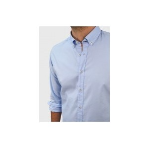 Men's Oxford shirt  Light blue  Q607-MSQ607-MS