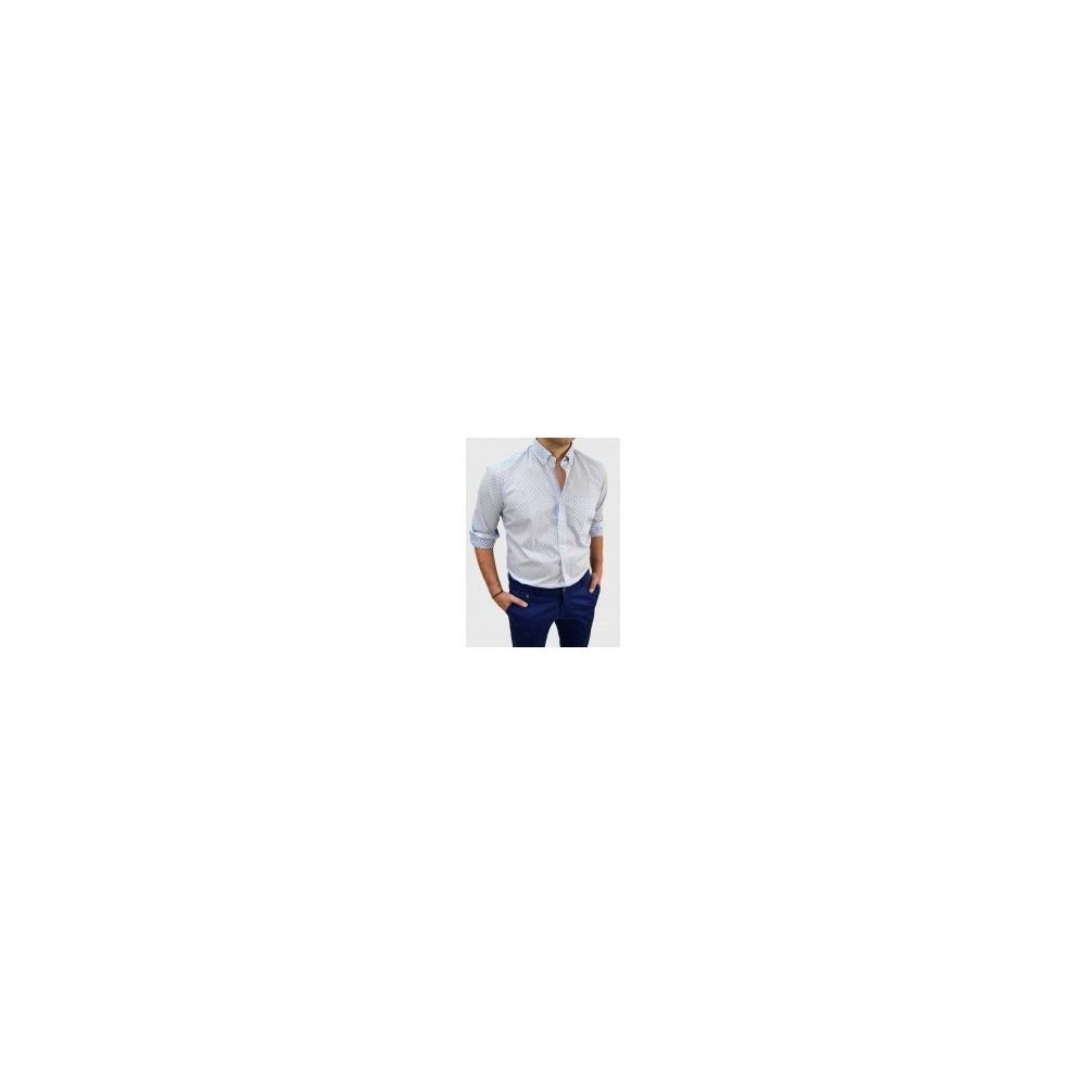 Ανδρικό Πουκάμισο ρίγα-σχέδιο Q663-MS 01230e78066