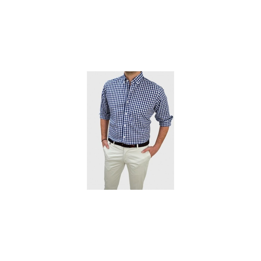 6d3c1e7911f0 Men s Checked shirt regular fit Q666-MS