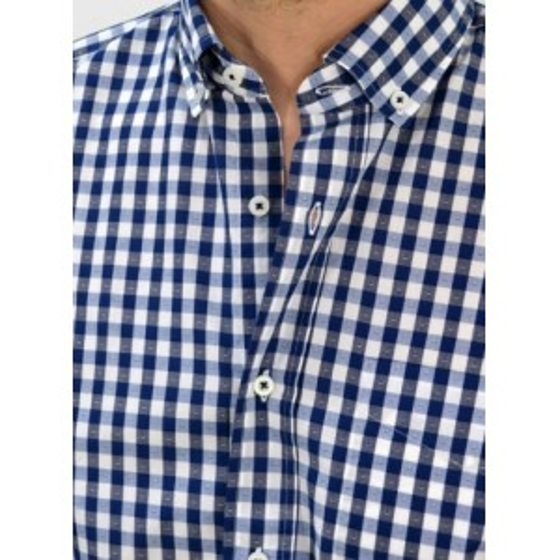 ... Men s Checked shirt regular fit Q666-MS 46a659dd6e6