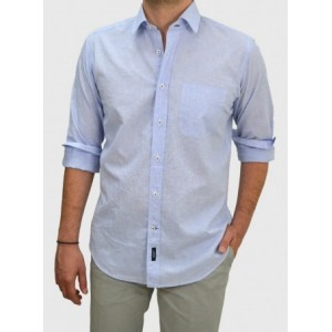 Men's Cotton-linen shirt  Q682-MS