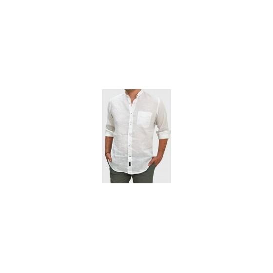 Men s Linen stand up collar RΑΙΜ Q680-MS ... 0c0e4e48ee5