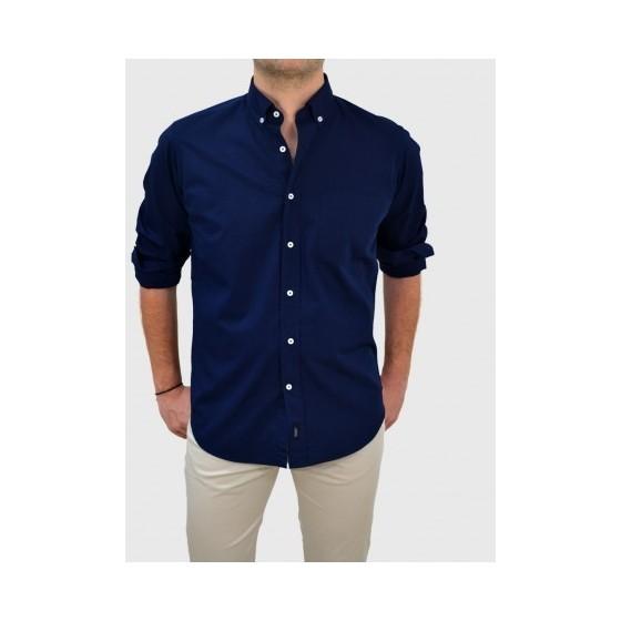 Ανδρικό Μπλε πουκάμισο φιλαφίλ Q670-MS e3607de325d