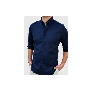 Men's Oxford shirt  Blue  Q607-MS Q607-MS