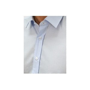 Men's Striped  Business small checked Q659-MB