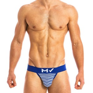Men's tanga brief blue MV 10813_blue / S18