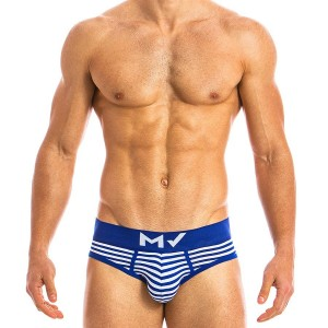 Men's classic brief blue MV 10814_blue / S18