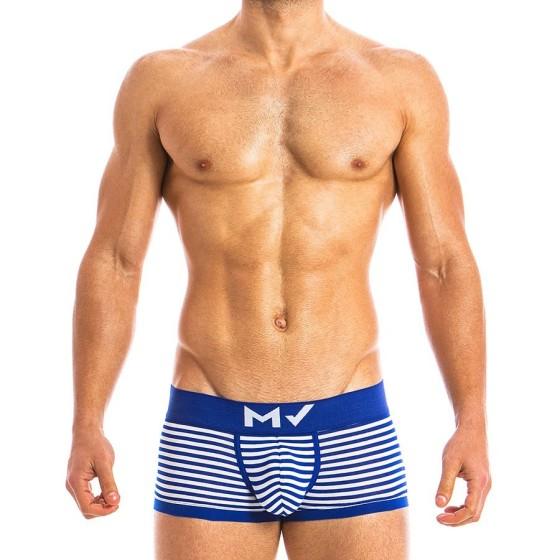 Ανδρικό boxer μπλε MV 10821_blue / S18