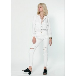 Women  Jeans White Effie 210
