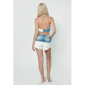 Women denim Short  Mom 701