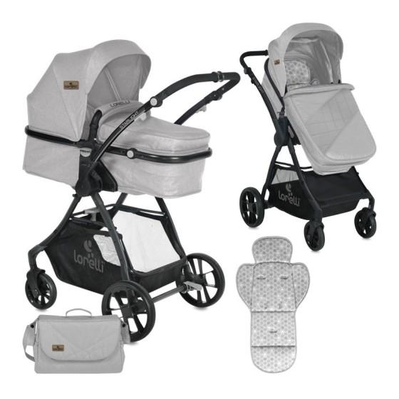 Baby Stroller  STARLIGHT SET 2 in 1 Grey