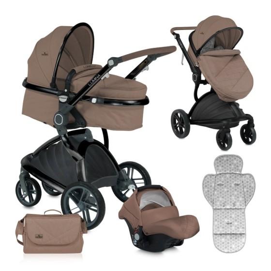 Baby Stroller  LUMINA 3 in 1 Beige