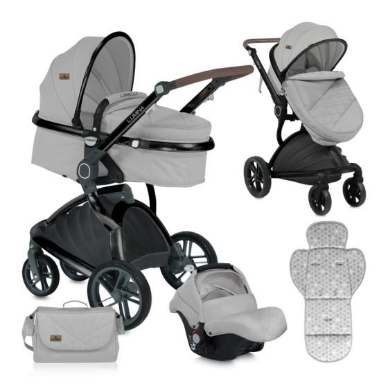 Baby Stroller  LUMINA 3 in 1 Grey