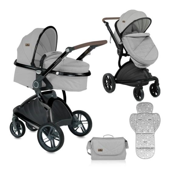 Baby Stroller LUMINA  2 in 1 Grey