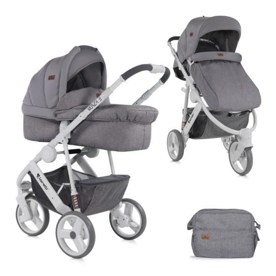 Baby Stroller  MONZA 2 in1 Grey