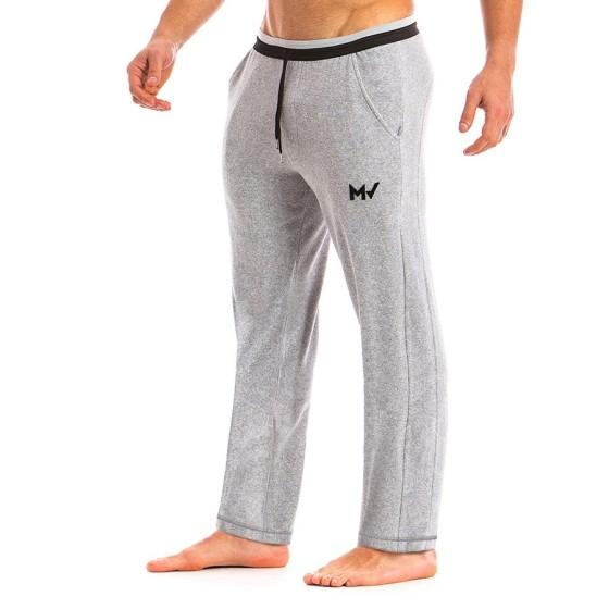 Ανδρικό πετσετέ παντελόνι γκρί 12862_grey