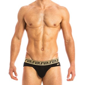 GREEK LUX JOCKSTRAP BLACK 13811_black